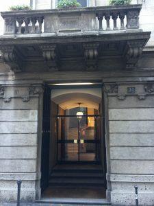 Studio Legale HMGLEX, ingresso_Via Cerva 23