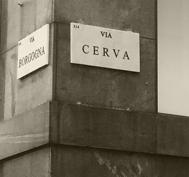 Via Cerva, Milano - Studio Legale HMGLEX